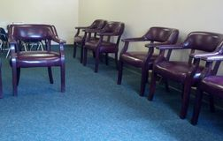 Empty waiting room Royalty Free Stock Photography