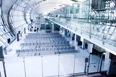 Waiting room gate,  place in airport Royalty Free Stock Image