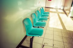 A Waiting room Stock Image