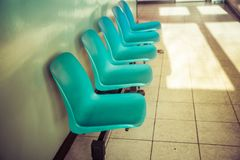 Waiting room. Of a GP clinic Royalty Free Stock Image