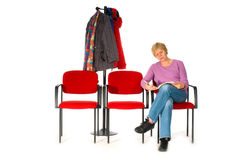 Waiting room hospital Stock Photography