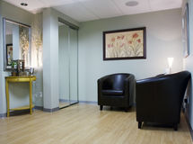 Waiting Room Interior Stock Image