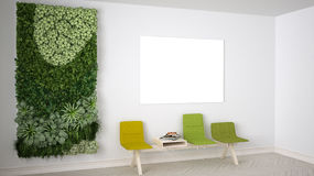 Waiting room, interior design Royalty Free Stock Photos