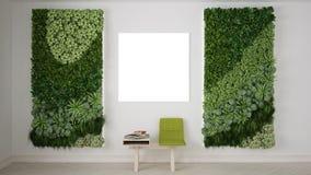 Waiting room, interior design. 3D illustration Stock Photo