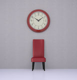 The waiting room Royalty Free Stock Photo