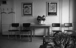 WAITING ROOM FOR PATIENTS Royalty Free Stock Image