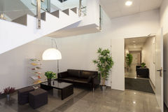 Waiting room. Or reception in office interior Royalty Free Stock Images