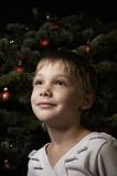 Waiting for santa Stock Photography