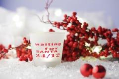Waiting for Santa Stock Photography