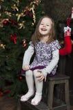 Waiting for Santa Claus. Royalty Free Stock Photo