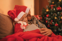 Waiting For A Santa Claus Royalty Free Stock Photography