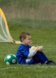 Waiting on the Sidelines royalty free stock photo