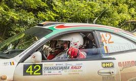 Waiting for the Start-Transylvania Rally 2014 stock photo