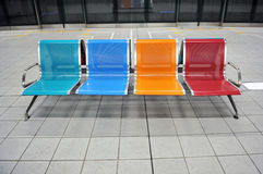 Waiting for subway Royalty Free Stock Photos
