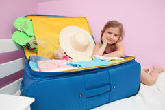 Waiting for summer vacation stock photos