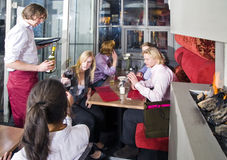 Waiting tables Royalty Free Stock Images