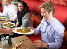 Waiting tables Royalty Free Stock Photography