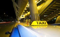 Waiting taxi Stock Photos