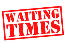 WAITING TIMES Royalty Free Stock Image