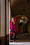 Waiting woman Royalty Free Stock Photos
