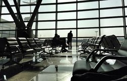 Waiting zone in airport Royalty Free Stock Images