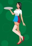 Waitress Royalty Free Stock Image