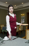 Waitress Royalty Free Stock Photography