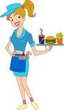 waitress Fotografie Stock Libere da Diritti