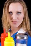 The Waitress Stock Image