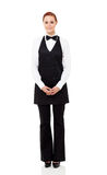 Waitress full length Royalty Free Stock Images