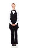 Waitress full length royalty free stock images