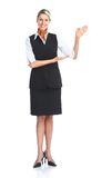 Waitress woman Royalty Free Stock Photography