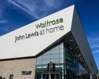 Waitrose i John Lewis dom zdjęcie royalty free
