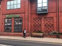 Waitrose sklep, London zdjęcia royalty free