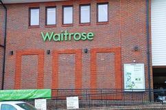 Waitrose supermarket, Tenterden Royaltyfria Foton
