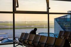 Waitting δωμάτιο αερολιμένων στοκ εικόνα