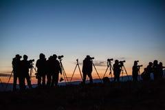 Waitting for sunrise Stock Photography