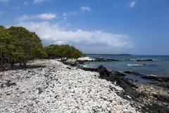 Waiulua Bay on Island of Hawaii Royalty Free Stock Image