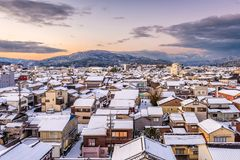 Wajima, Ishikawa, Japan stock foto