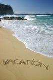 wakacje Zdjęcie Stock