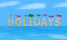 wakacje Obraz Royalty Free