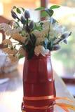 Wakacje karta z wiosna kwiatami Fotografia Stock