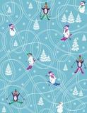 wakacje lód royalty ilustracja