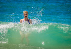 Wakacje letni oceanu zabawa Fotografia Stock