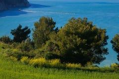 Wakacje na Adriatic morzu, Monte Conero Obraz Stock