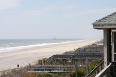 wakacje na plaży zdjęcie stock