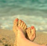 Wakacje na plaży Obraz Royalty Free