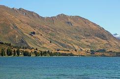 Wakacje na Wanaka jeziorze Zdjęcie Stock