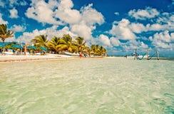 Wakacje, podróżny pojęcie costa majowie Mexico zdjęcie royalty free