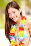 wakacje szczęśliwa kobieta Zdjęcie Royalty Free
